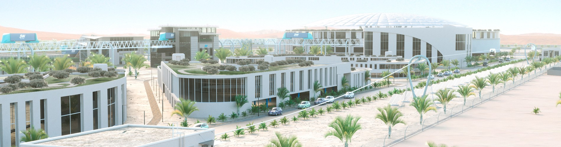 The Beginning of the Second Phase of the SkyWay Innovation Center Construction in the UAE