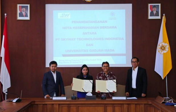 SkyWay Indonesia & UGM: MOU Signing & Delivery of CSR Program