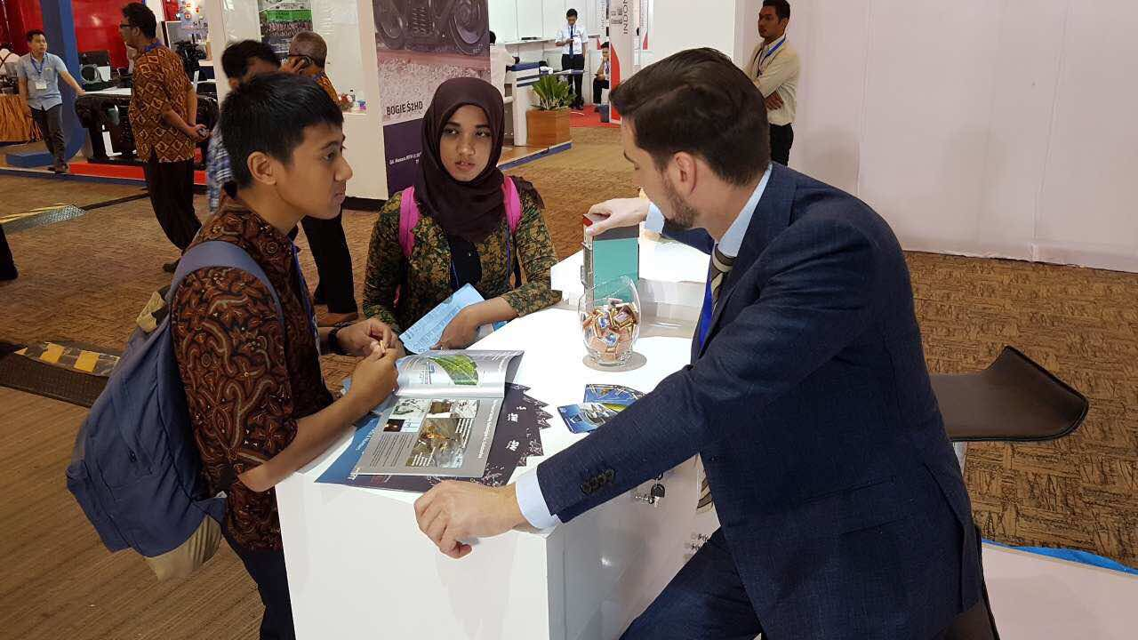 SkyWay is exhibiting in Indonesia