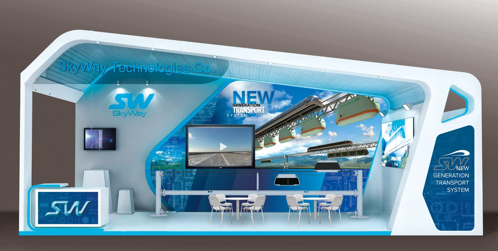 SkyWay technology will be displayed at RailwayTech 2017 in Indonesia