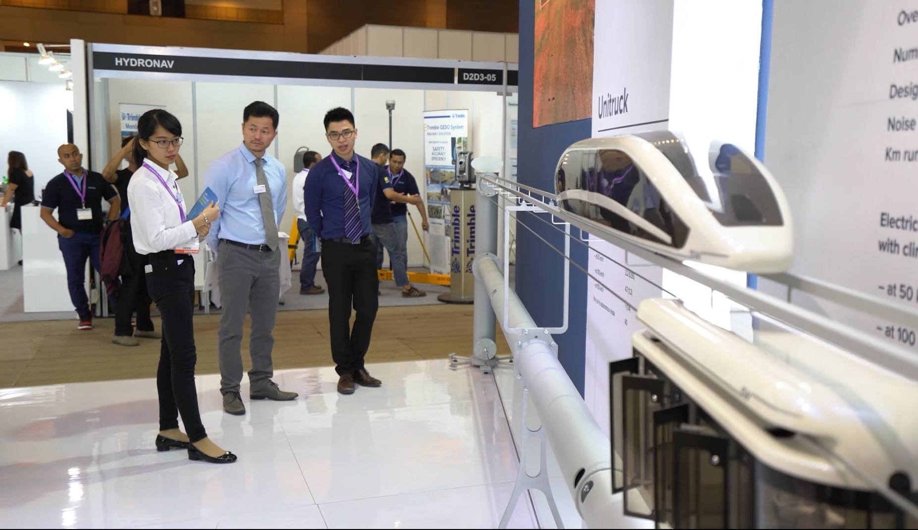 SkyWay à l'exposition RailwayTech Indonesia 2018