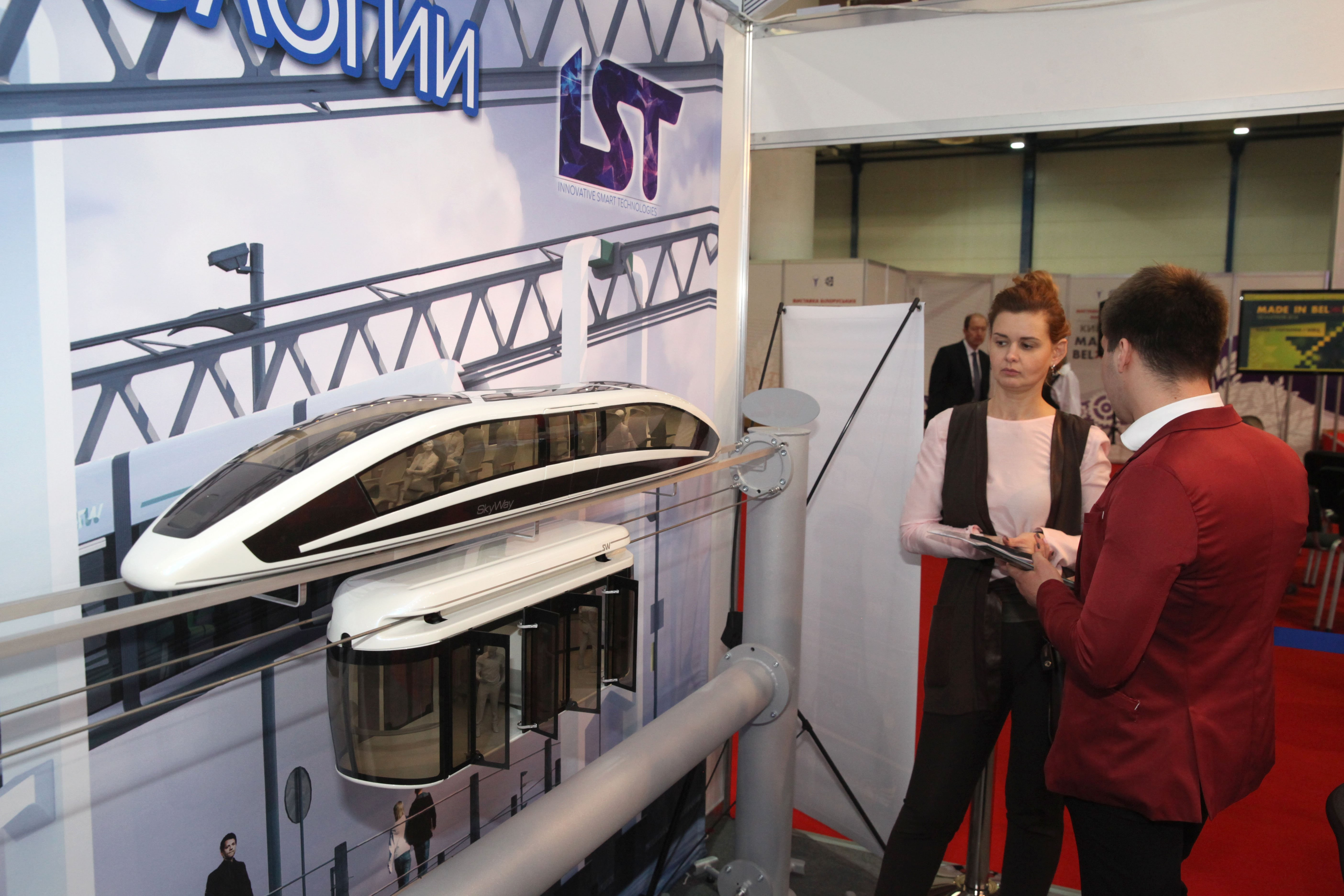 "Work on All Fronts: SkyWay at ""Made in Belarus"" in Kiev"