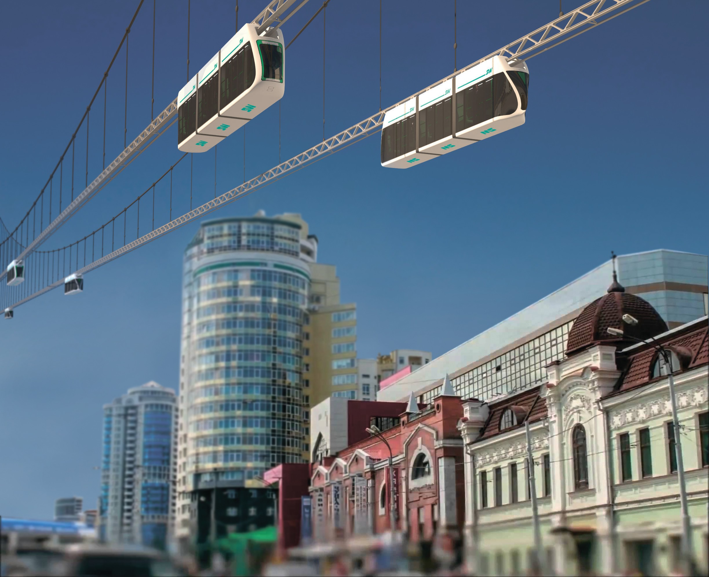 Paid Parking Lots in the City Center, Wi-Fi at Public Transport Stops and SkyWay: Yekaterinburg Is Waiting for Something New