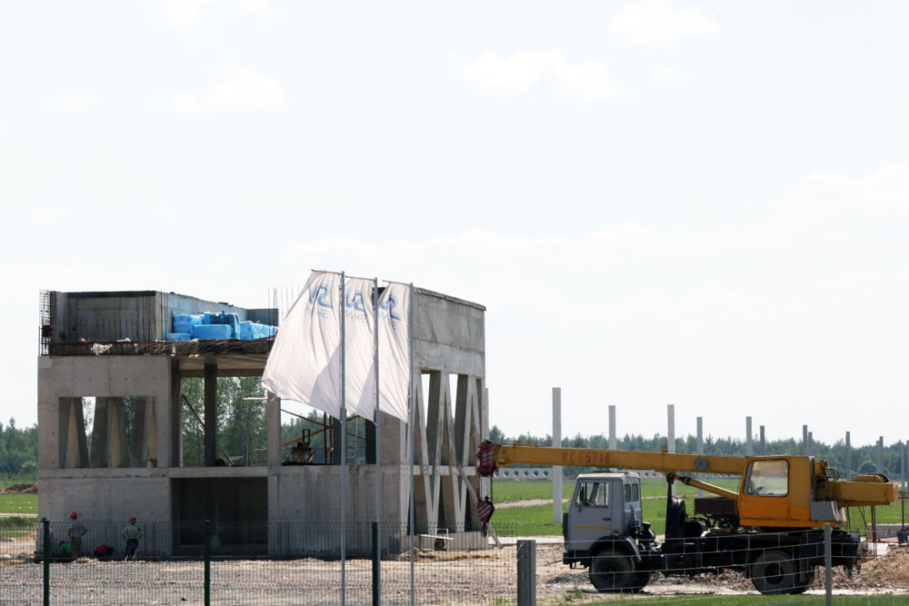 Photo report on EcoTechnoPark construction progress dated June 30