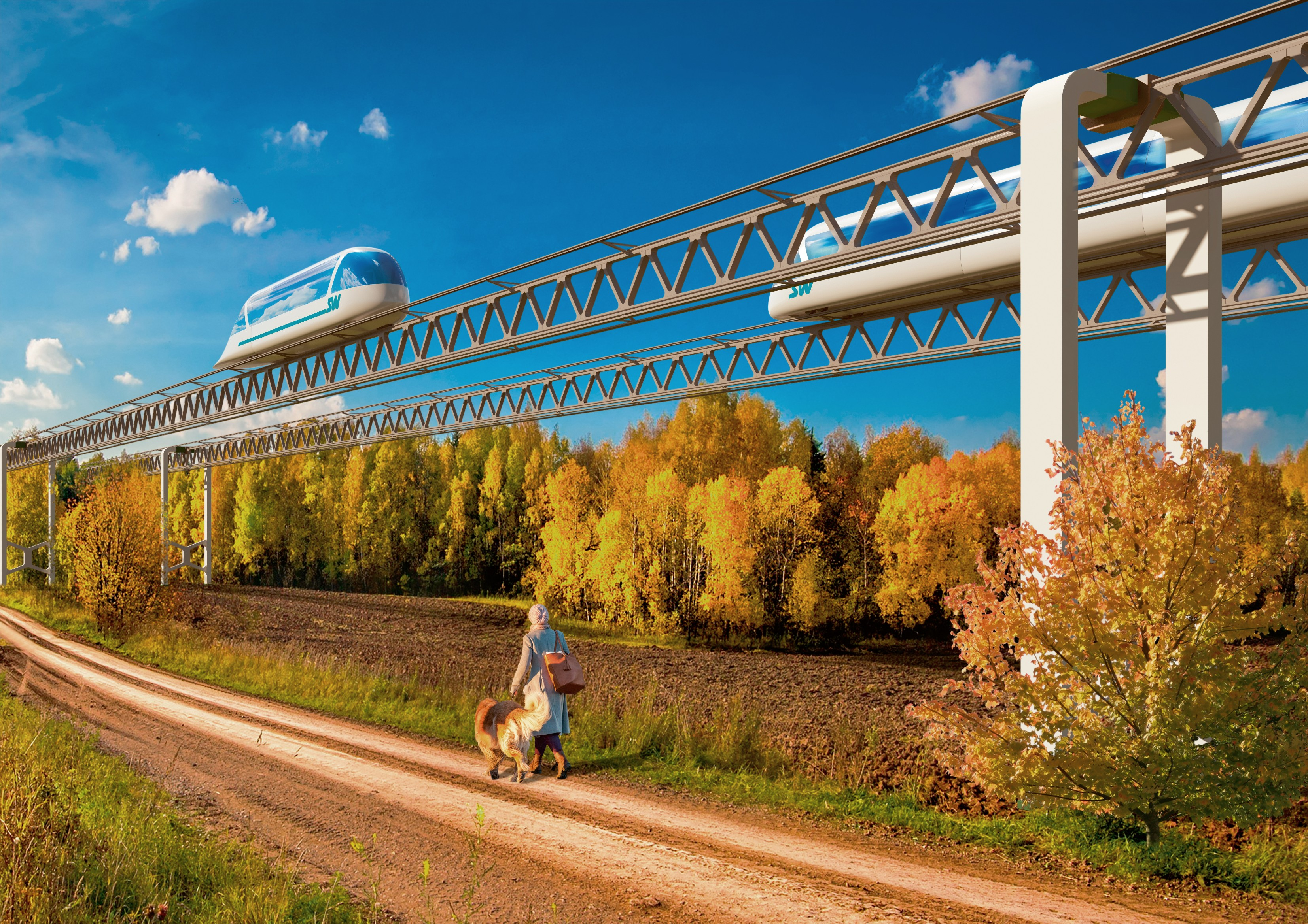 "SkyWay Ideas Get Implemented Even More Intensively: Novosibirsk Mayor Ready to Build a ""Smart City""."