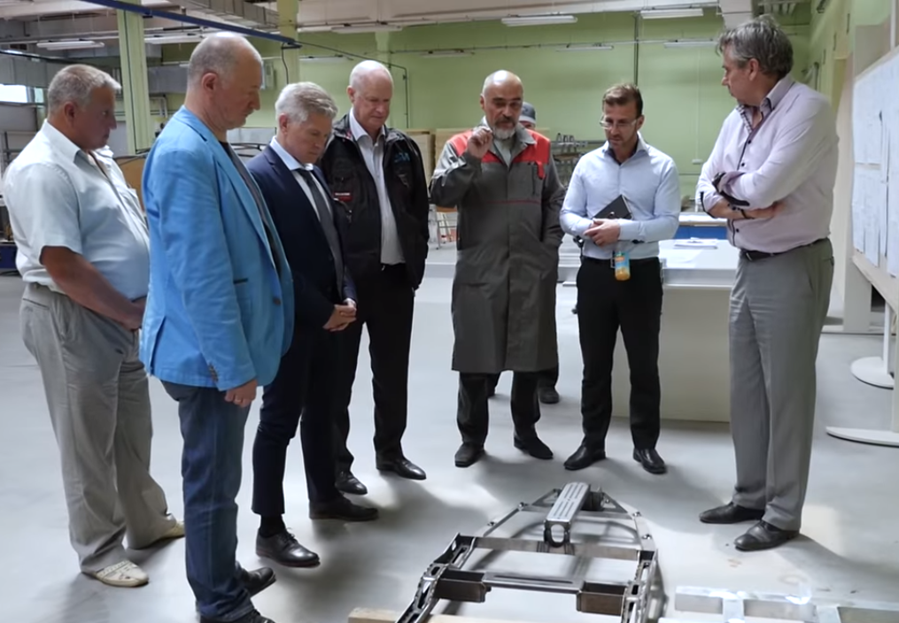 "SkyWay is produced here: Rod Hook visited experimental production facility ""Unibus"" and EcoTechnoPark"