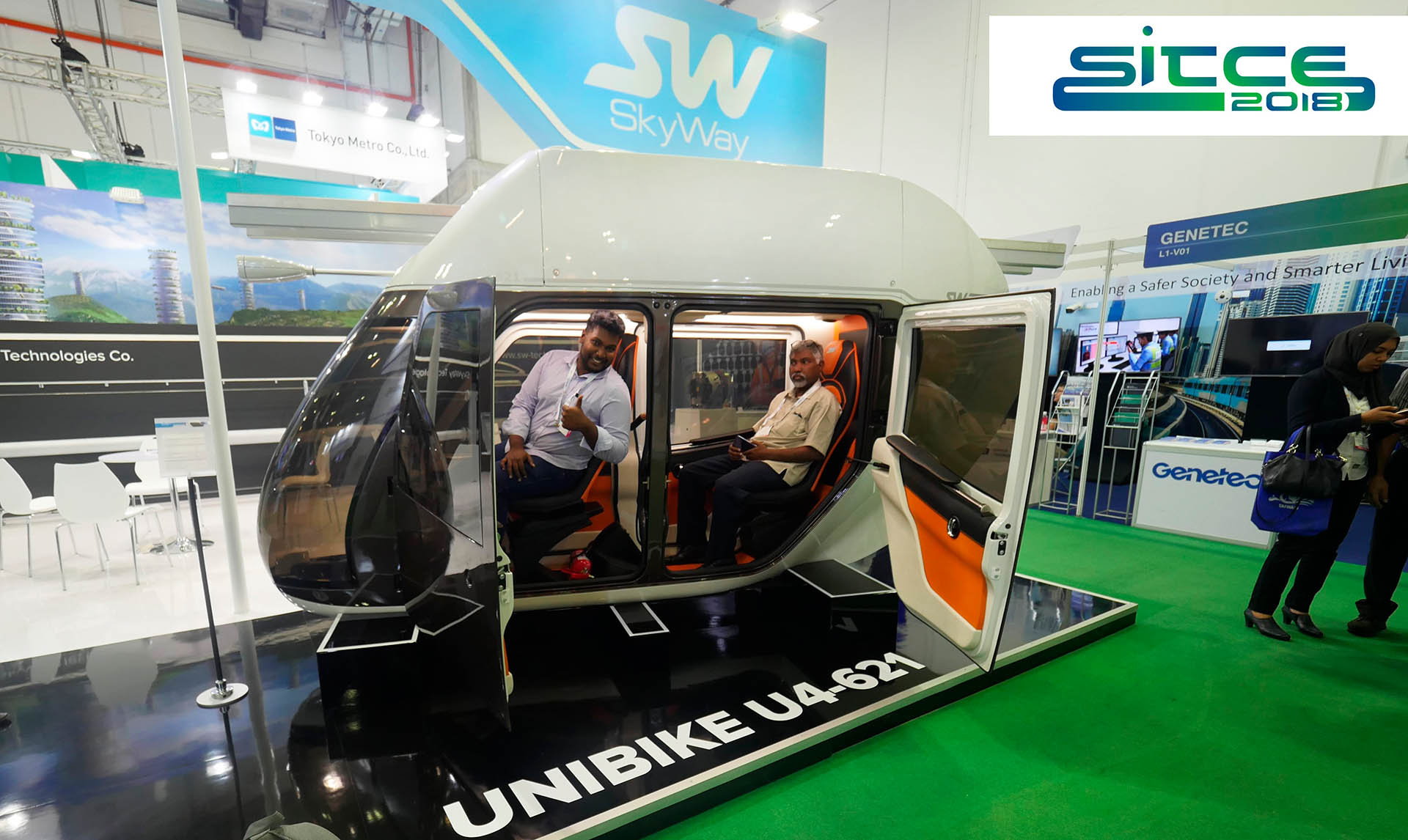 SkyWay at the International Transport Congress in Singapore
