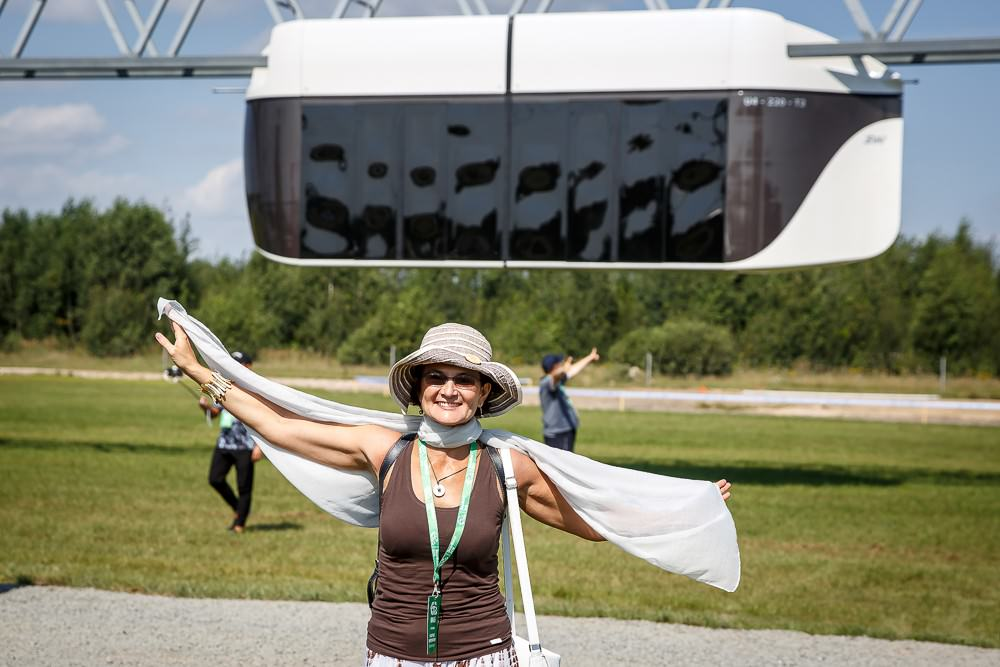 SkyWay, Sky Way, SkyWay in Belarus Yunitsky, string transport, EcoTechnoPark, EcoFest2018, general designer, report