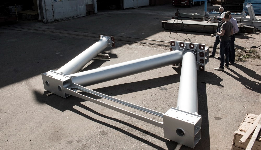 Acceptance of anchor supports for lightweight track structure