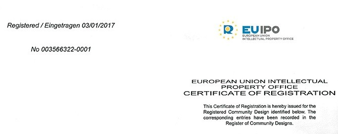 EUIPO Intellectual Property Certificates Received
