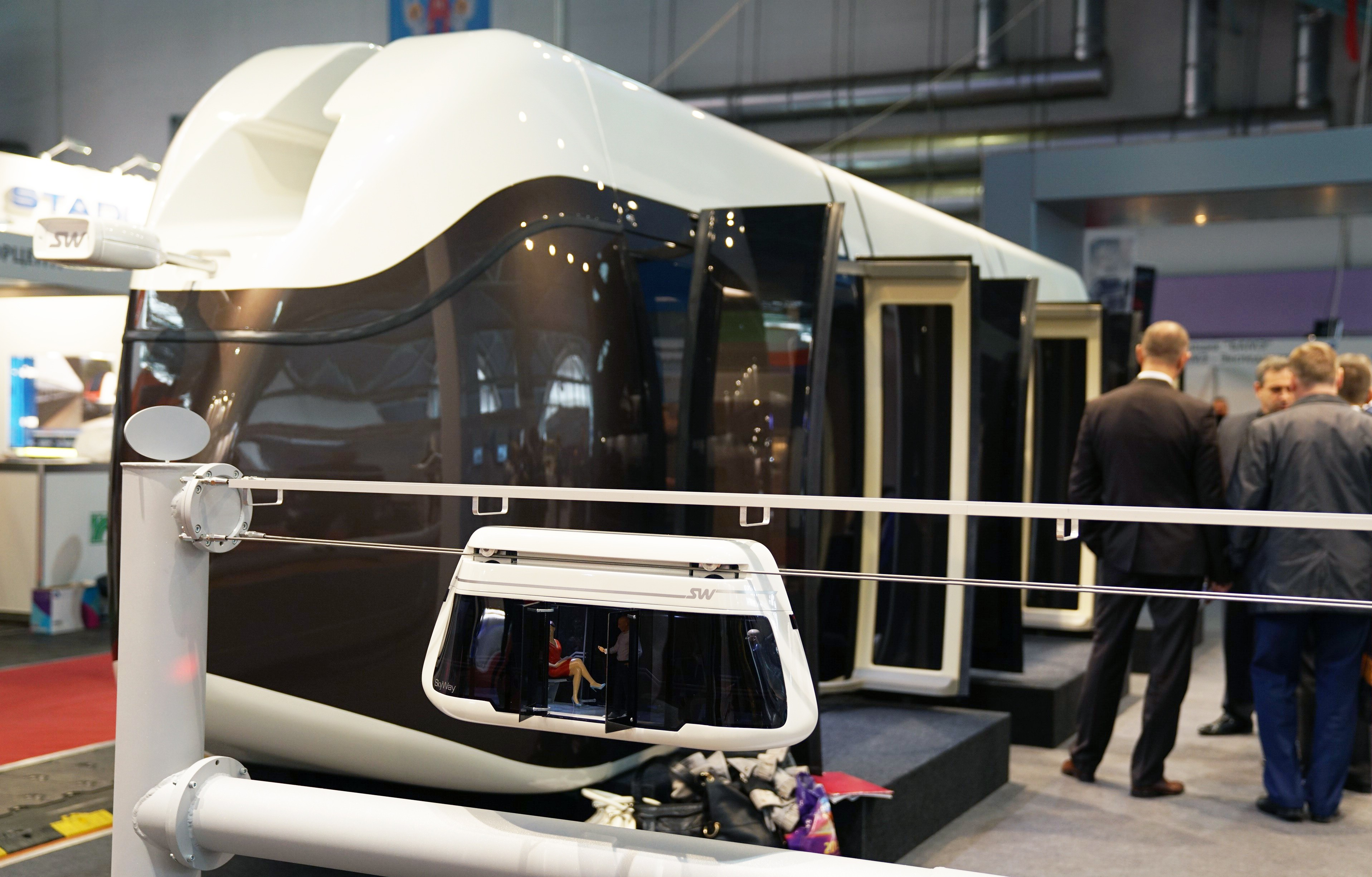 "SkyWay at ""Transport and Logistics-2017"": Unicar is Shown for the First Time"