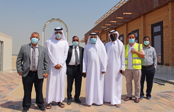 A Delegation from the Government of the Emirate of Sharjah visited SWIC