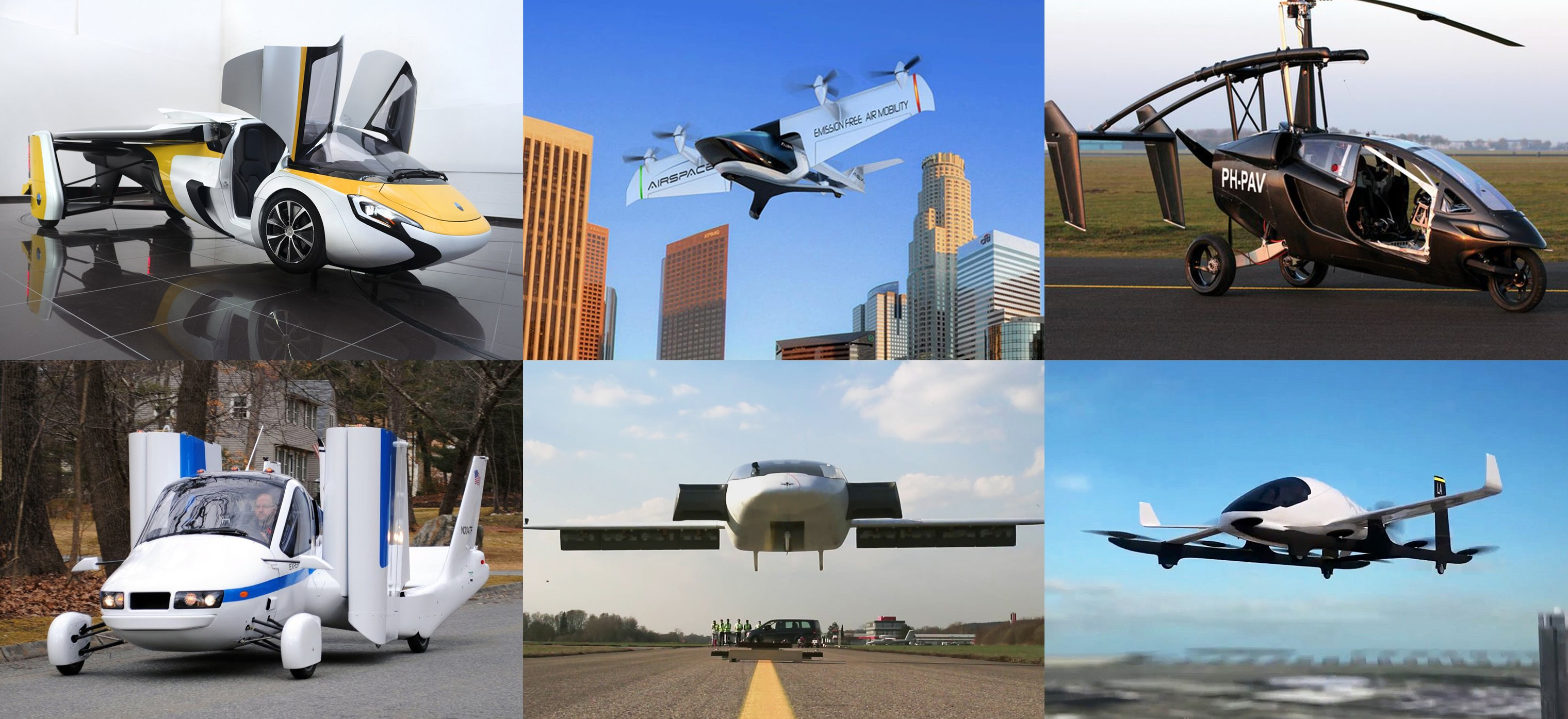Ending up in Smoke: Projects of Flying Cars Cannot Succeed yet