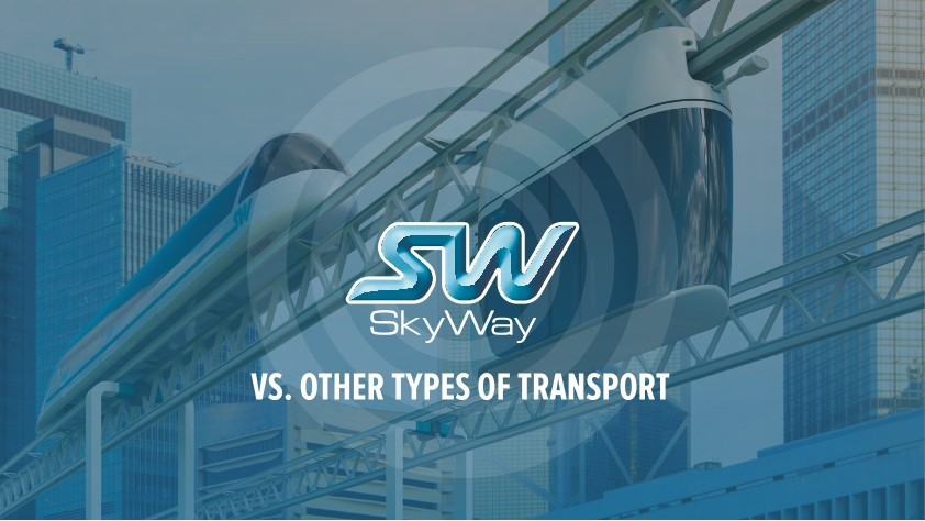 SkyWay compared to other modes of transport