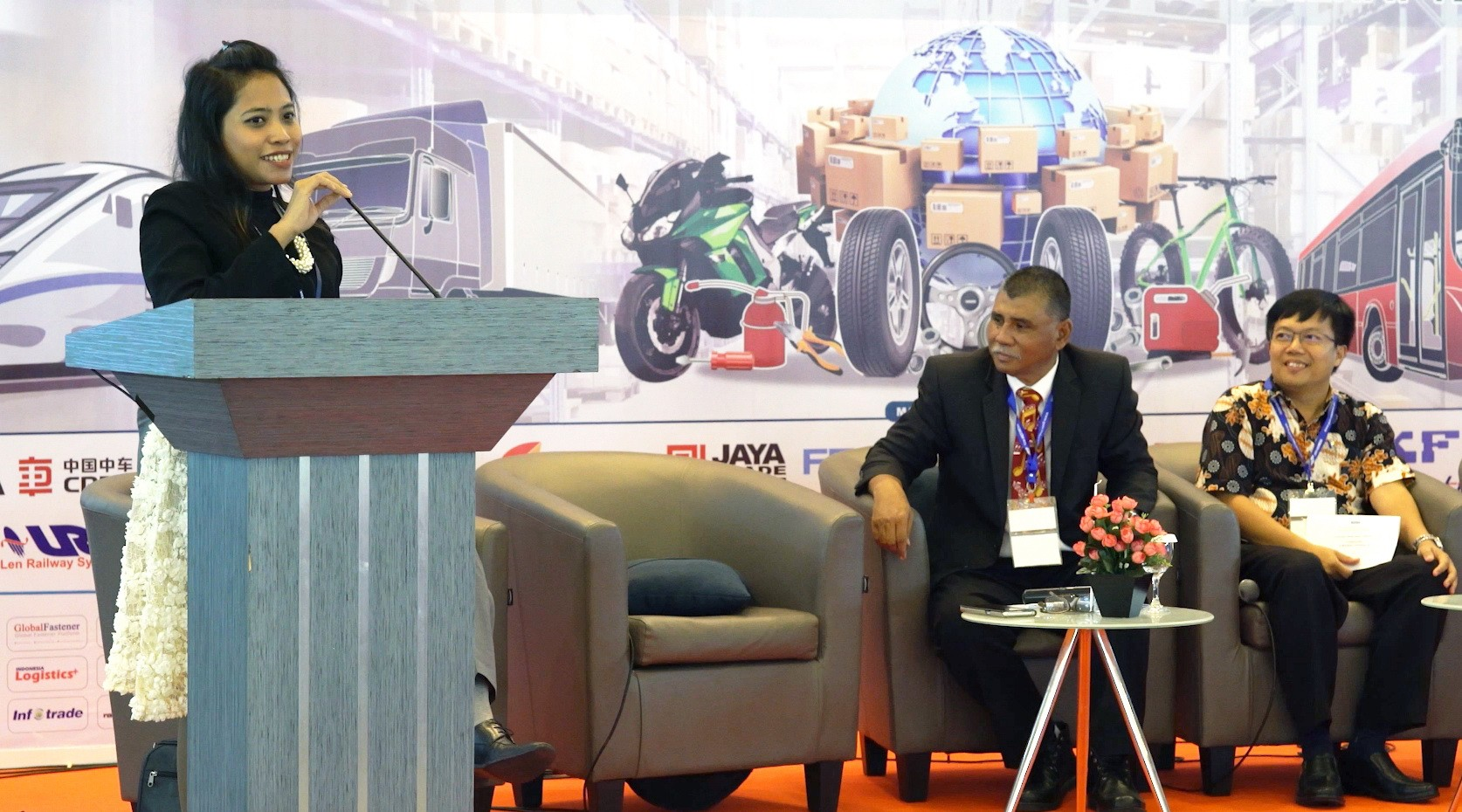 SkyWay at the Exhibition RailwayTech Indonesia 2018: Presentation of the Technology