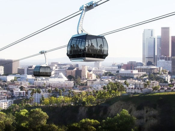 Viewpoint From EcoTechnoPark: Aerial Gondola in Los Angeles