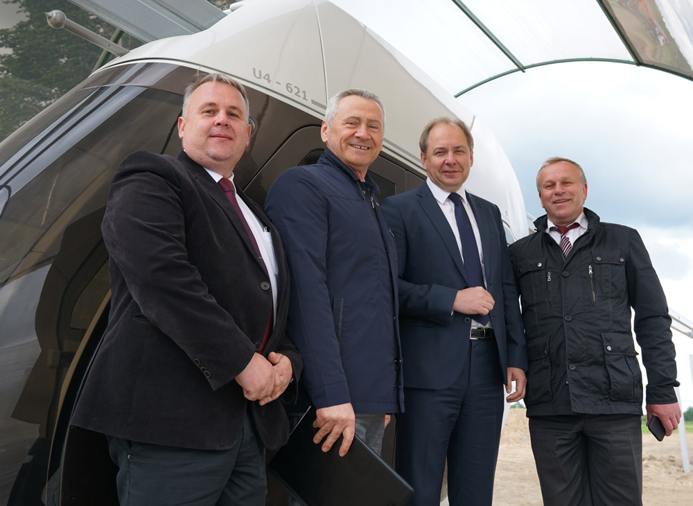Representatives from Mogilev Appreciated SkyWay Achievements