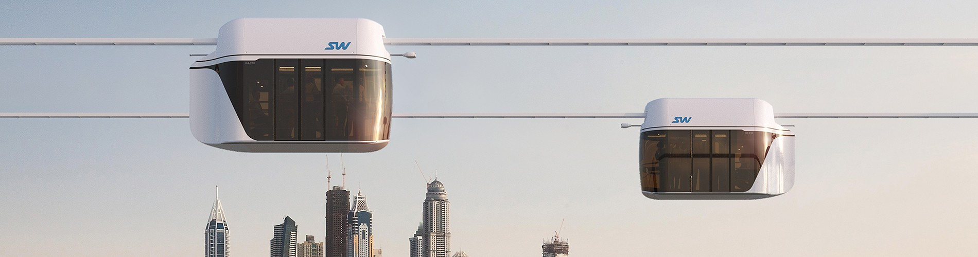 German media on the fifth transport system in Dubai