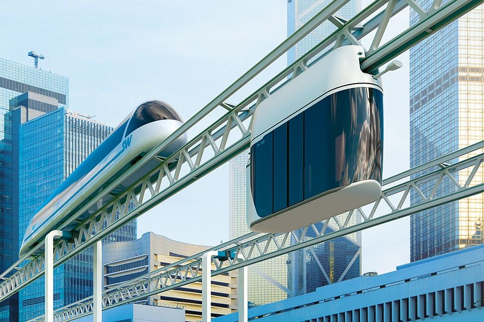From Movie Screens to City Streets: Hoverboard, Flying Cars and SkyWay Transport