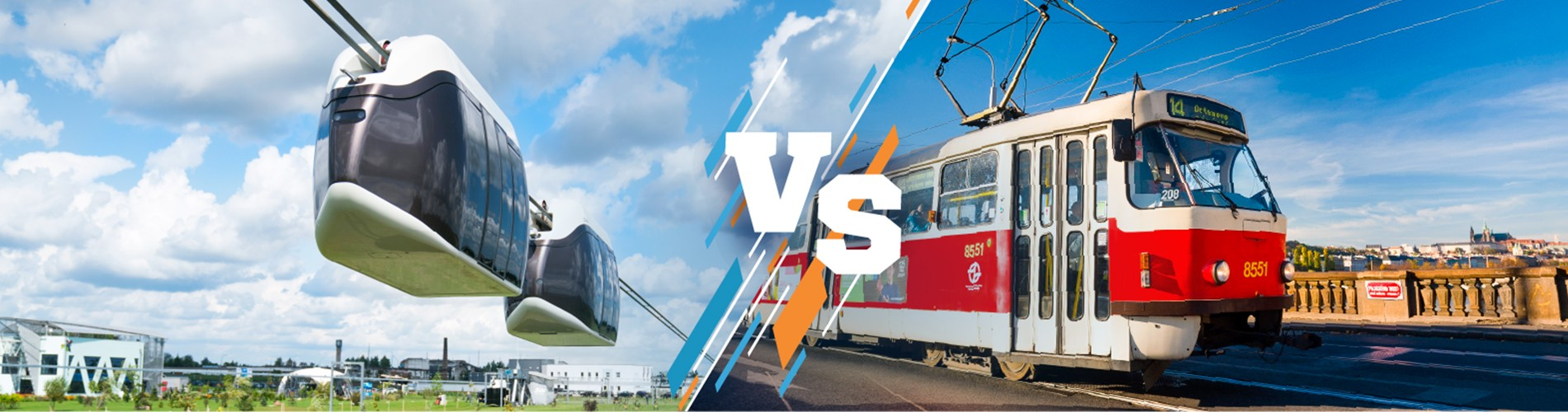 Bataille des technologies: SkyWay vs tramway