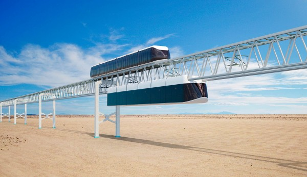 Railway Technology: Dubai's Crown Prince Attended SkyWay Presentation