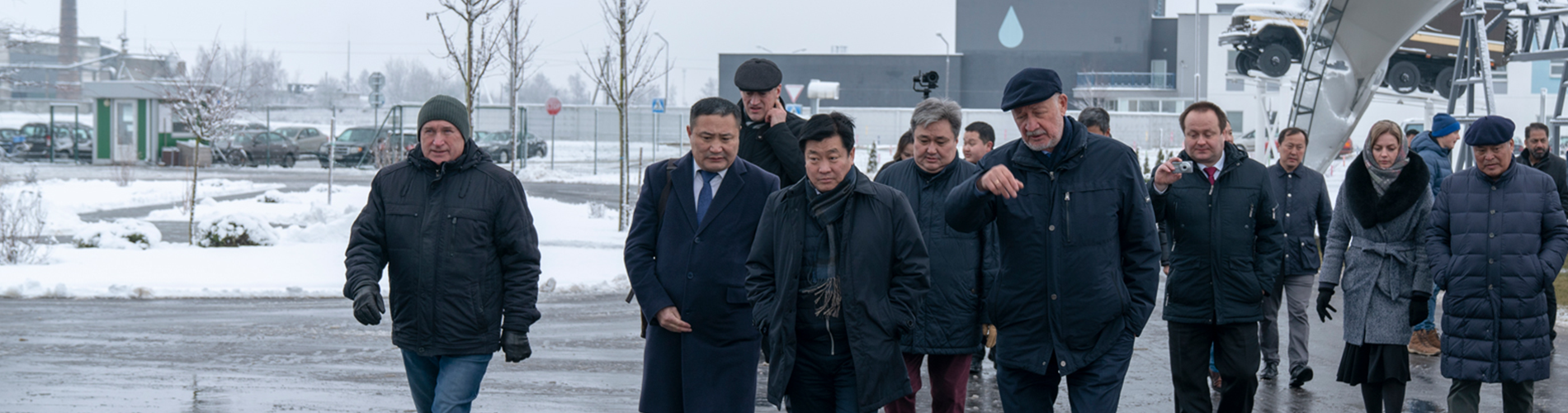 Visit of the delegation from Mongolia to SkyWay EcoTechnoPark